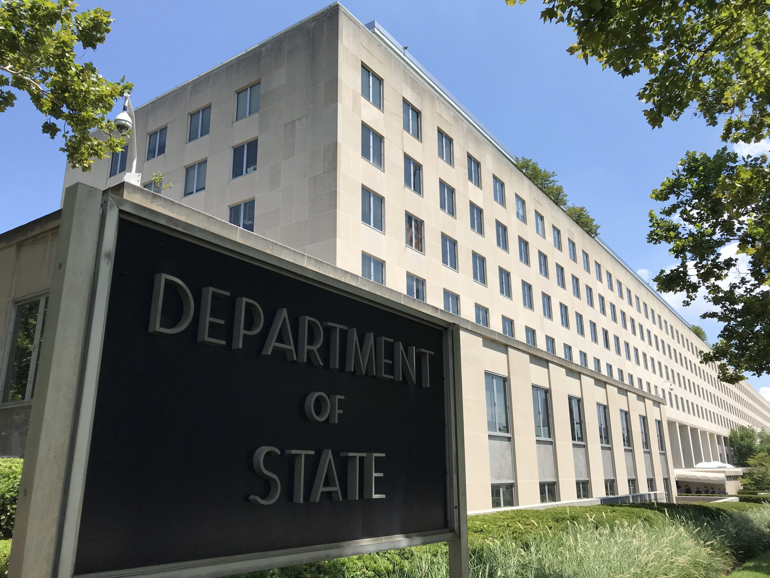 US Department of State / Signs and buildings.